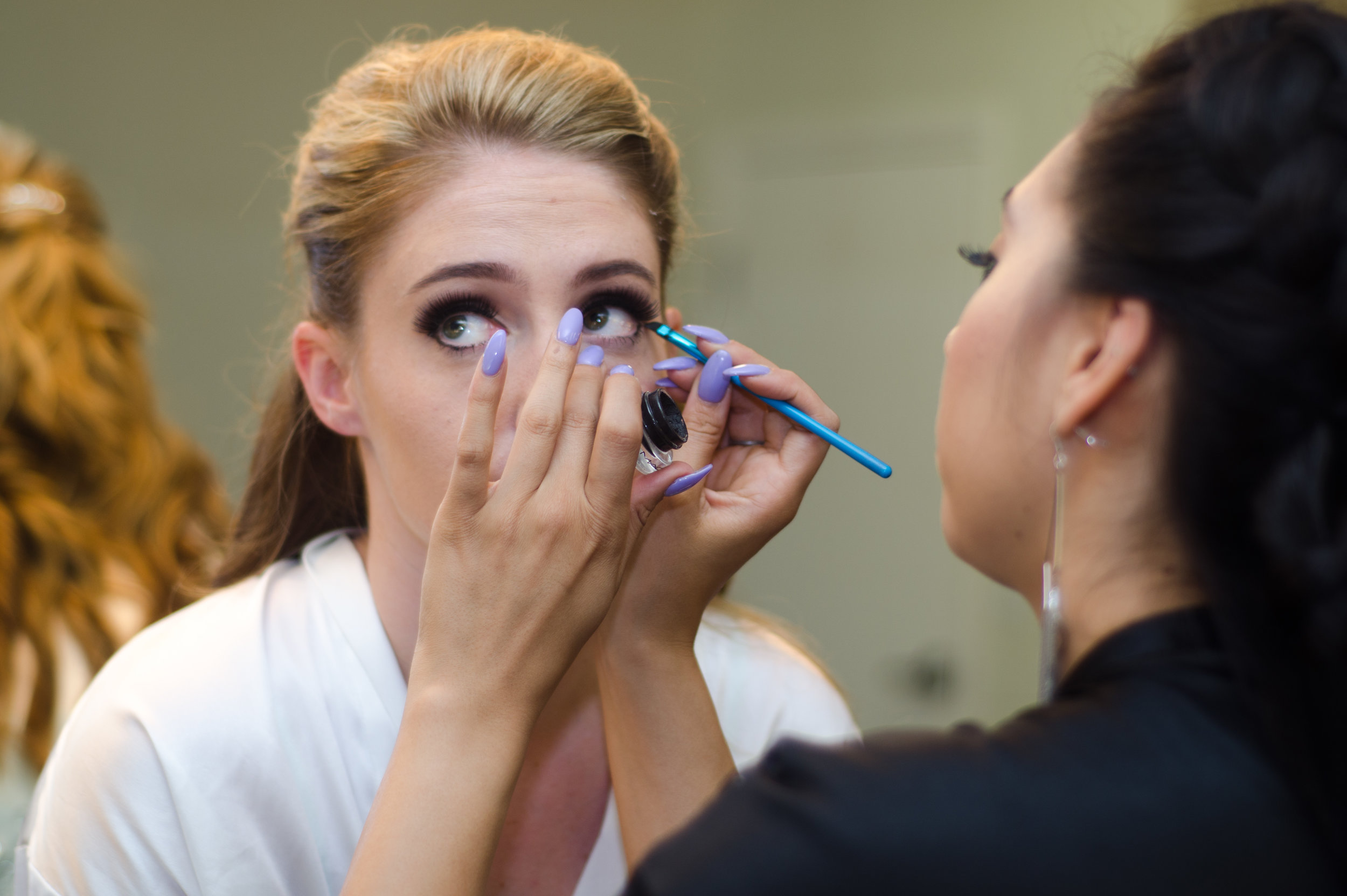 McCoy Equestrian Center Wedding Makeup Artist | Forever Taeken Weddings