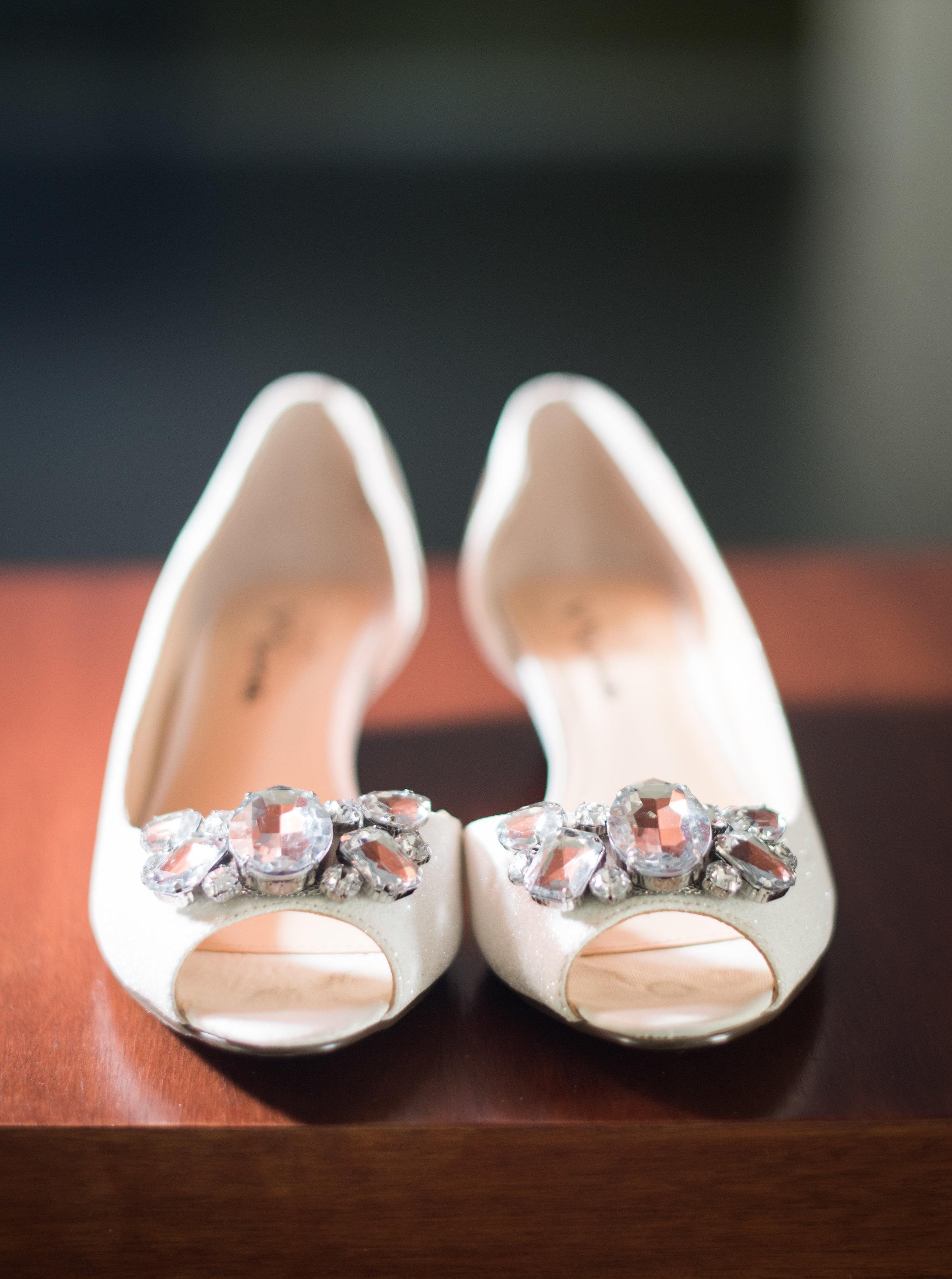 McCoy Equestrian Center Wedding Shoes | Forever Taeken Weddings