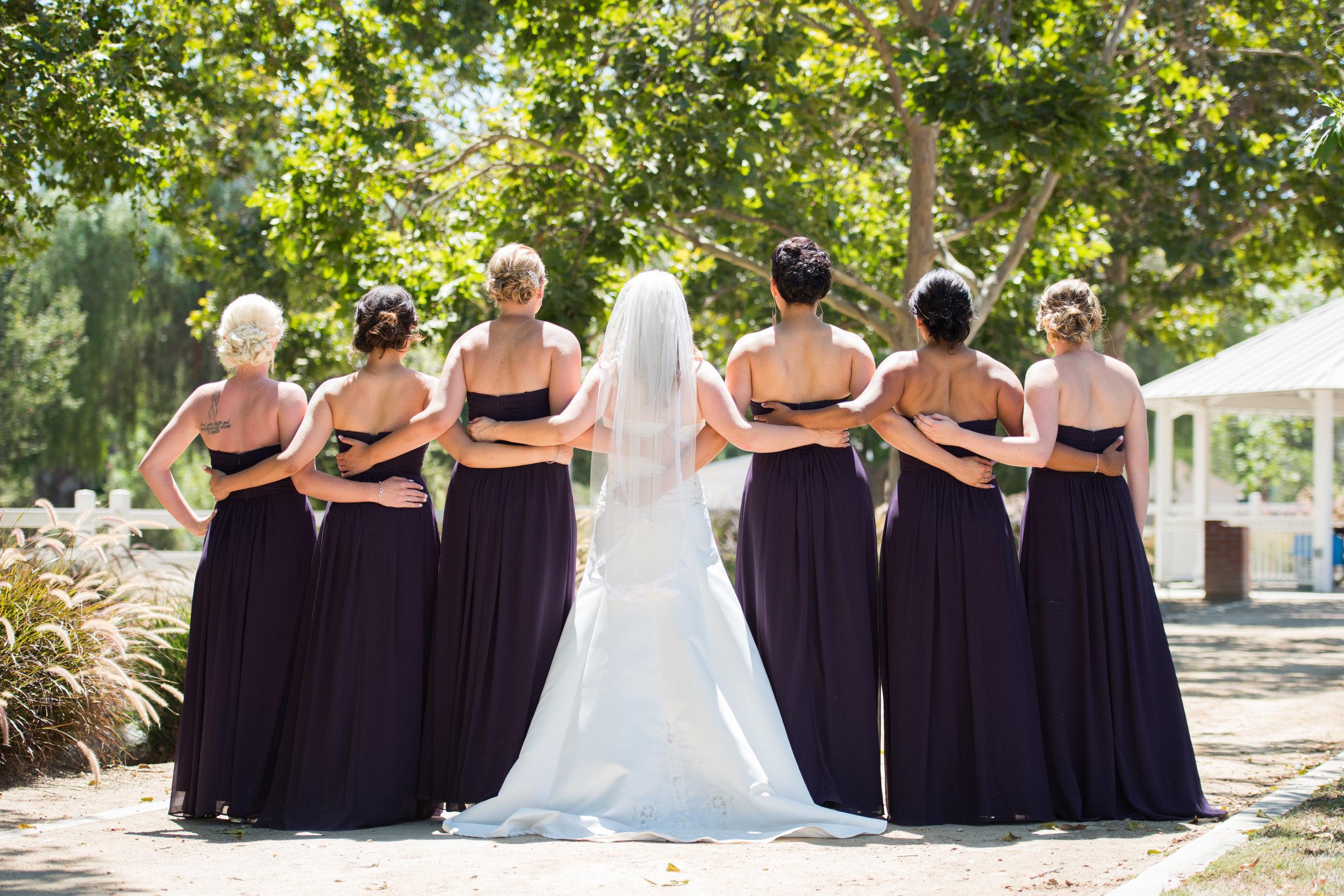 McCoy Equestrian Center Wedding Bridesmaids | Forever Taeken Wedding