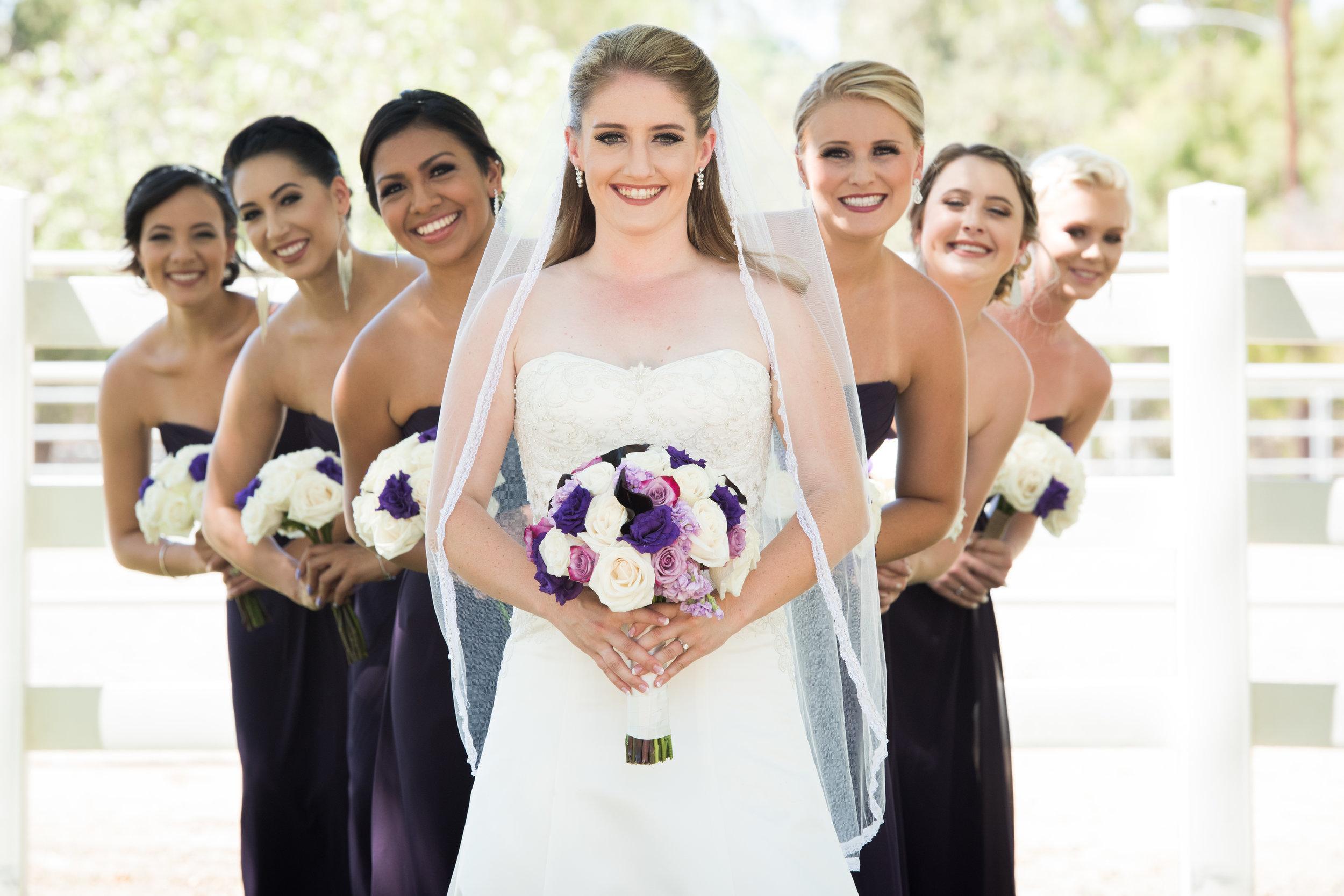 McCoy Equestrian Center Wedding Bridesmaids | Forever Taeken Weddings