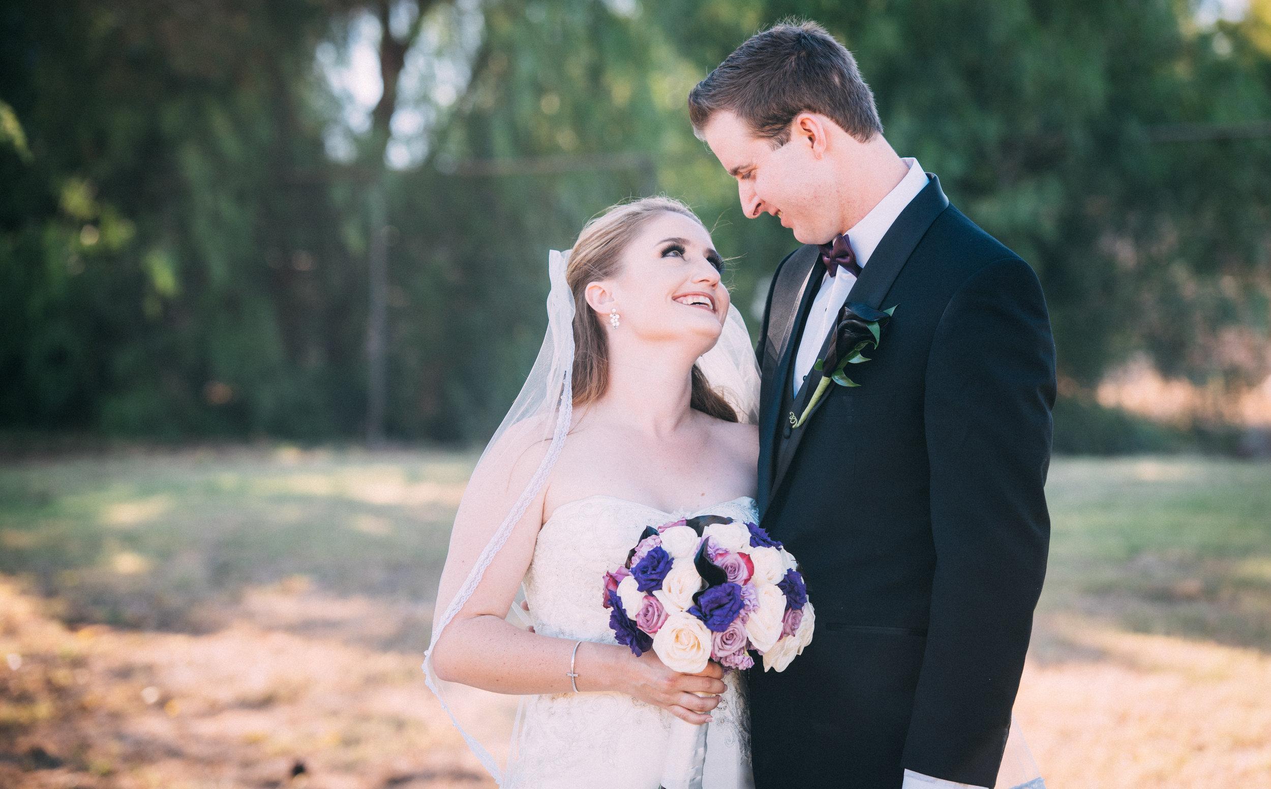 McCoy Equestrian Center Wedding Bride and Groom | Forever Taeken Weddings