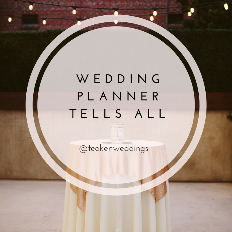 Things you never knew about wedding planners revealed!  Photography By:  Nicole Leever Photography