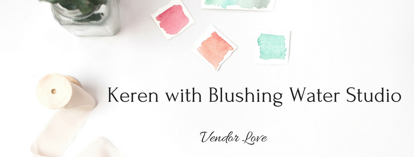 Blushing Water Studio on Forever Taeken Weddings Blog