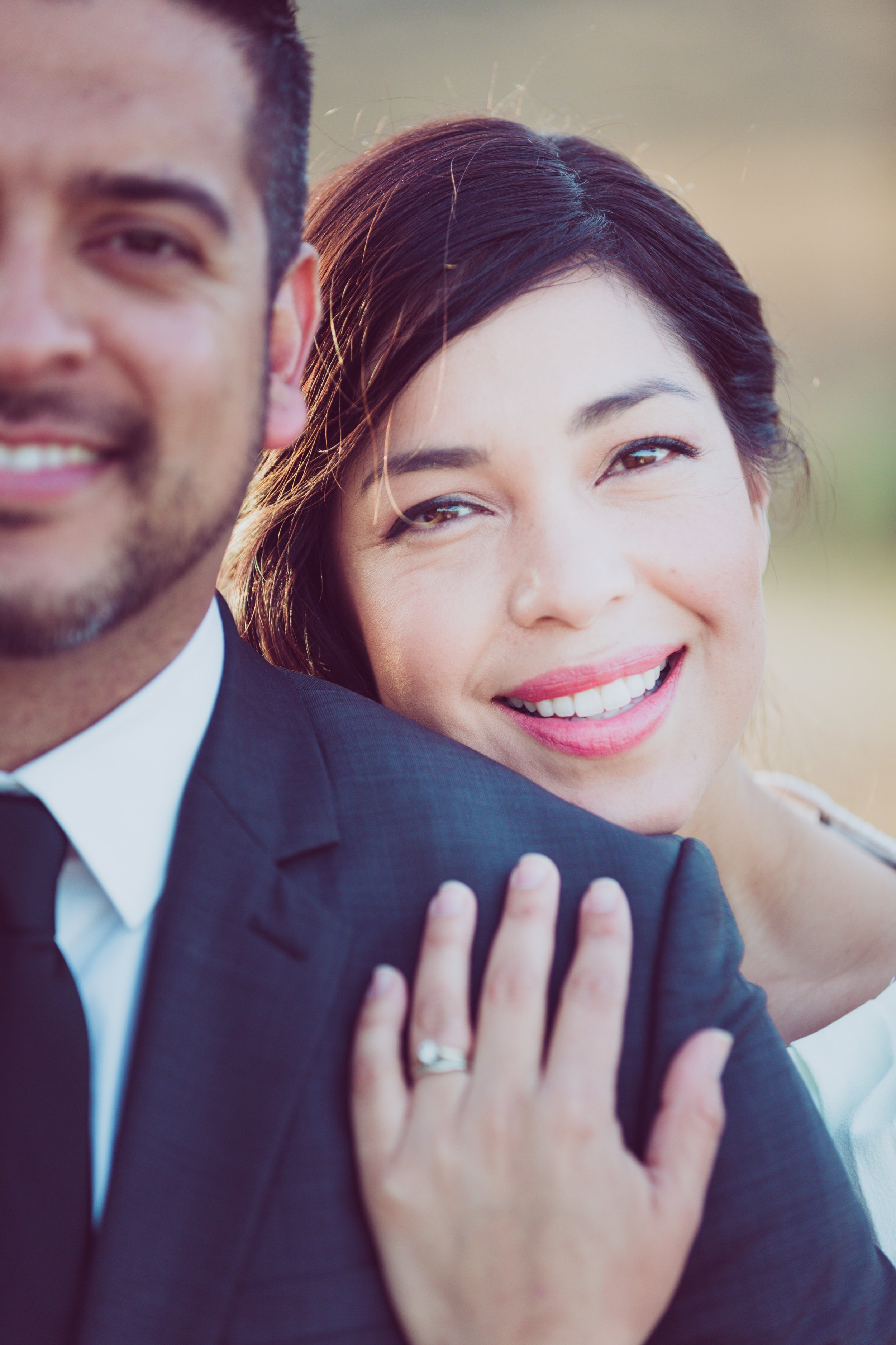 Beautiful photo of Keren and her husband, Manny.  PC:  Natan Vigna Photography