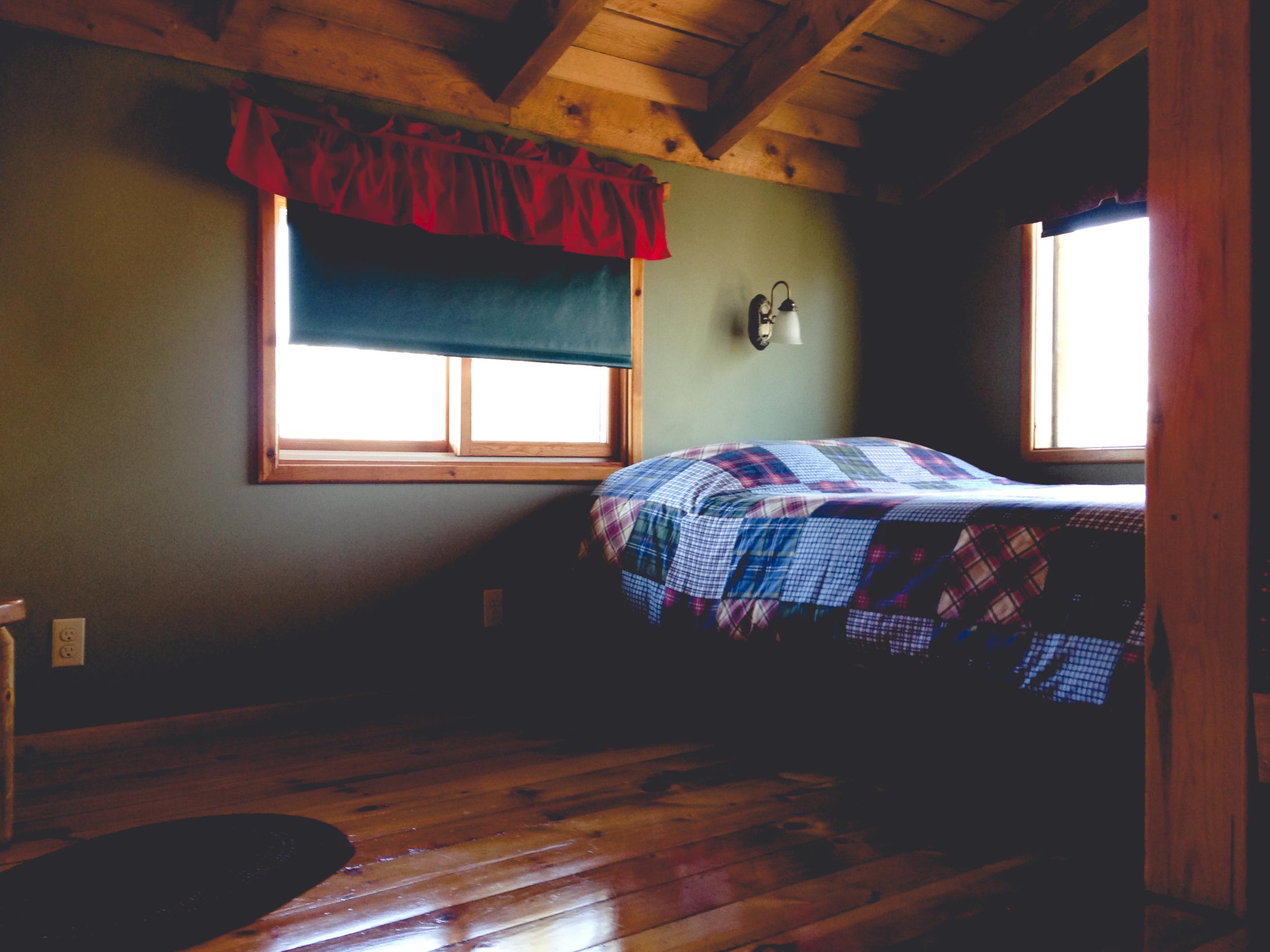 Copy of Log Cabin Loft Bedroom