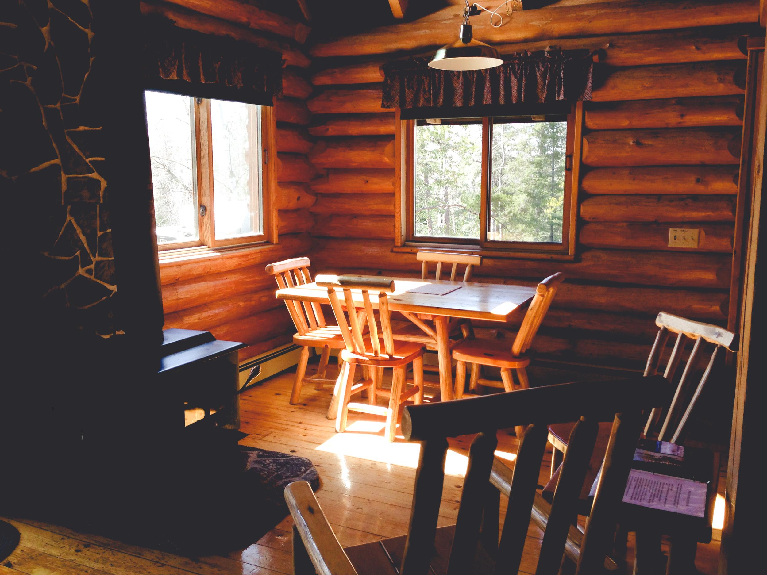 Copy of Cozy Log Cabin