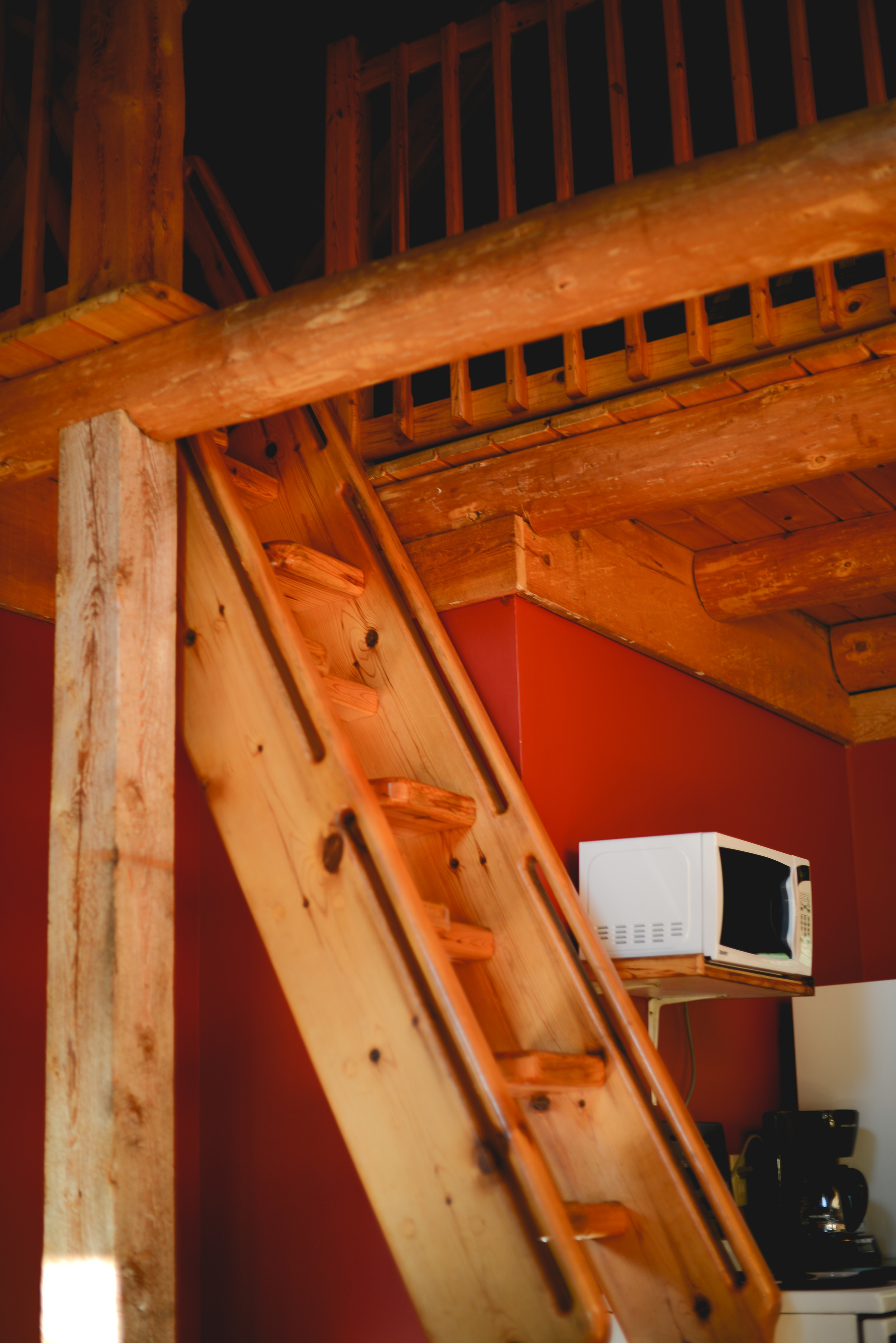 Copy of Log Cabin Rental Interior