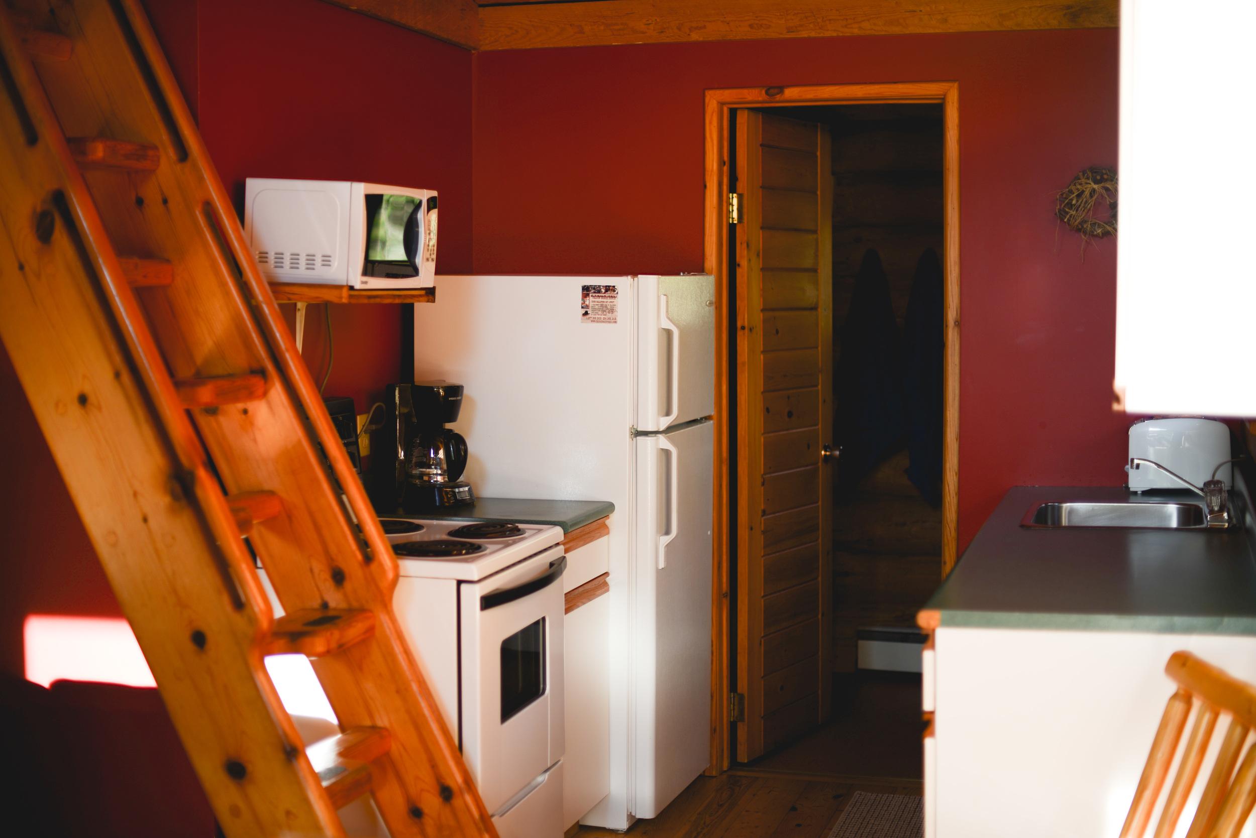 Copy of Log Cabin Kitchen