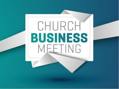 HCC CHurch Busniness Meeting Sept,21, 2019 2pm All members please come.