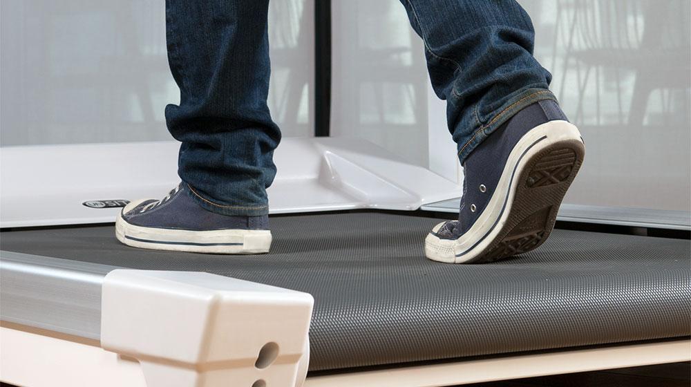 treadmill base for desk