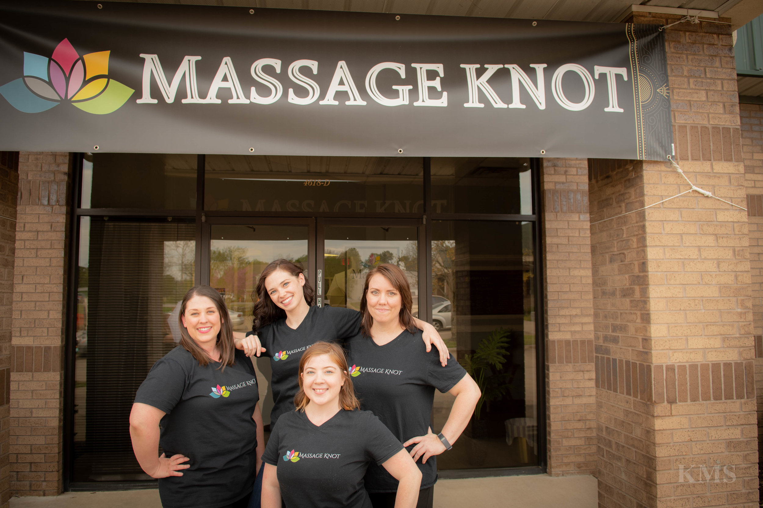 Here at Massage Knot we are proud to say we have experienced therapist's. They all have their very own style and techniques. Try one or all to make sure you find the right style for your specific needs. All our therapist's are great at making sure to cater to your individual pain and give you the relaxation you need and deserve. Make sure you schedule your session today as they all fill up fast!