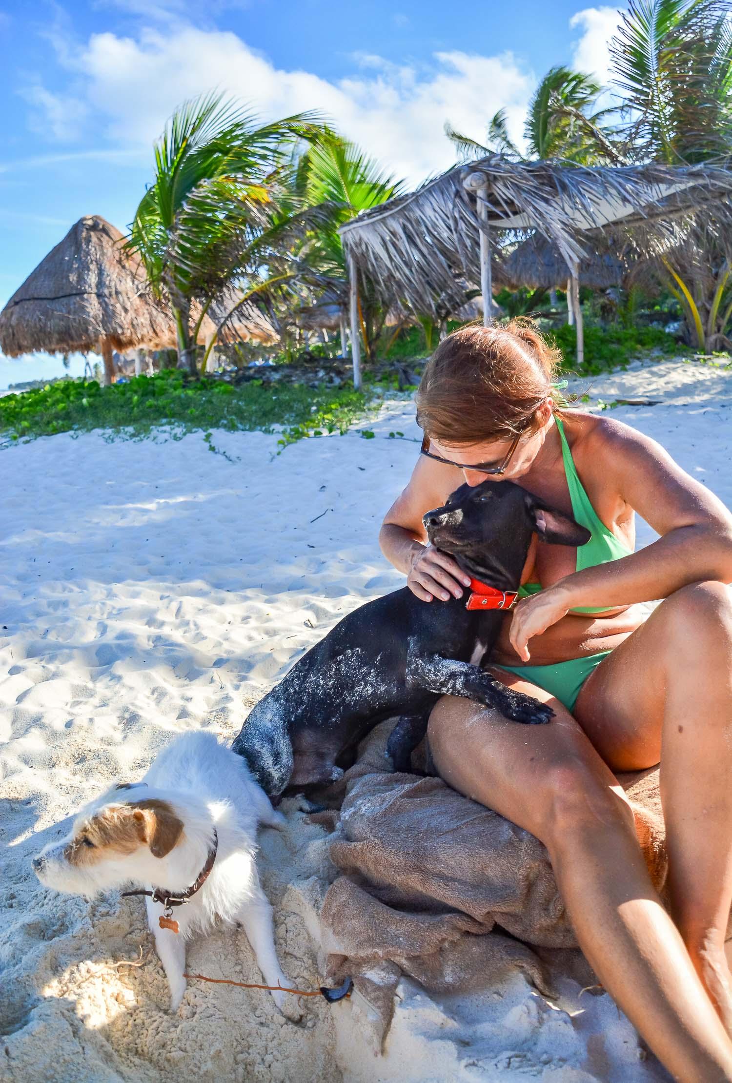 Pippen, Berto and Ariane - Tulum, Mexico