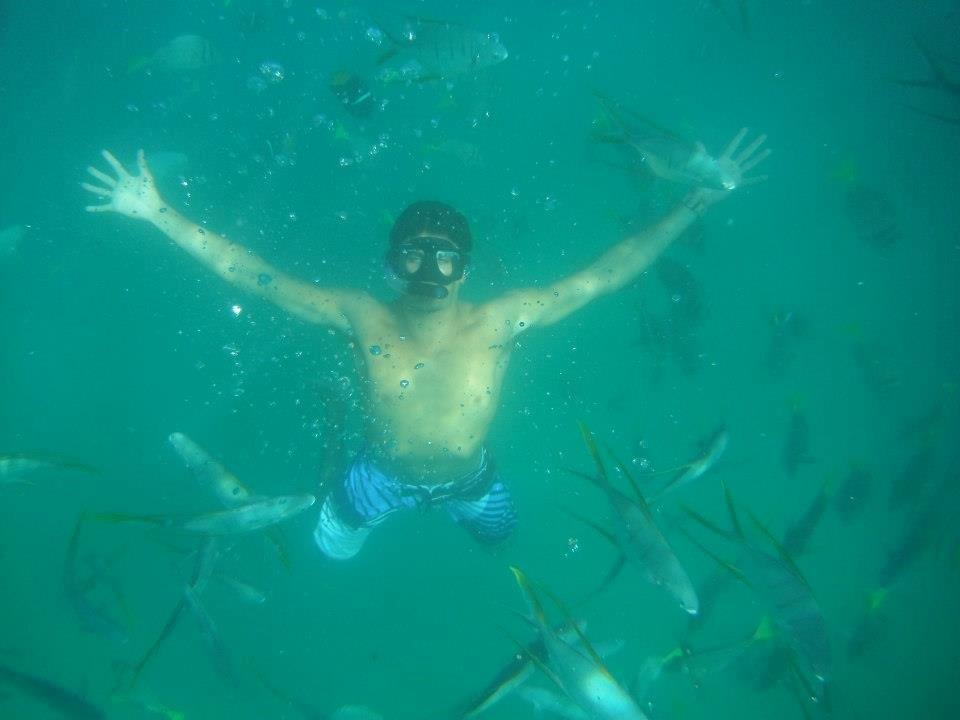 Snorkeling in Los Cabos, Mexico.