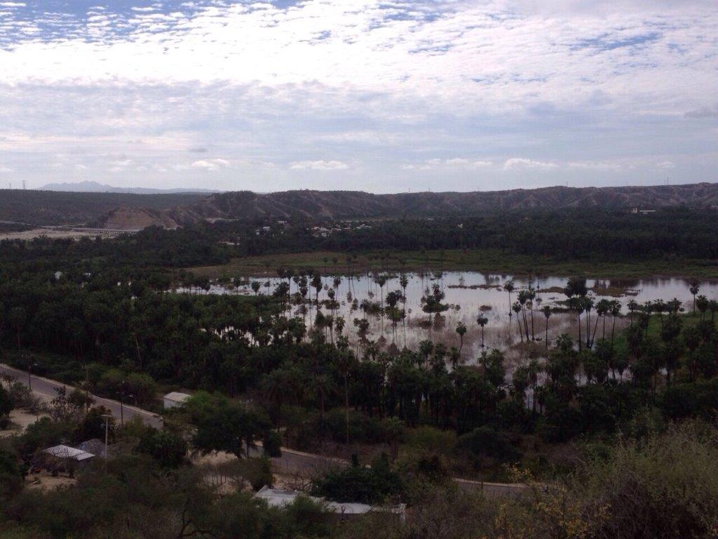 The scenery at Fox Canyon in Los Cabos