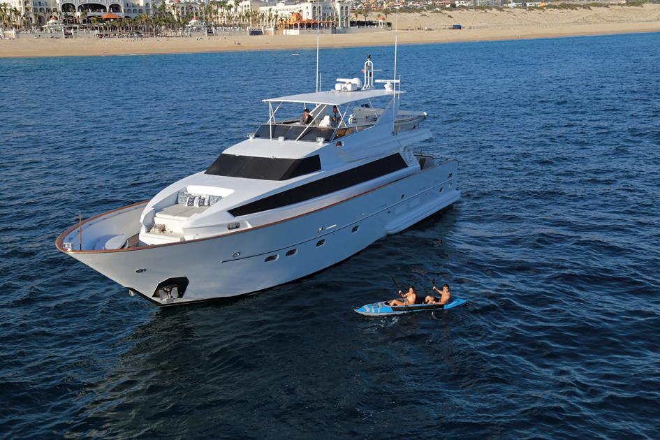 The Contessa  Yacht