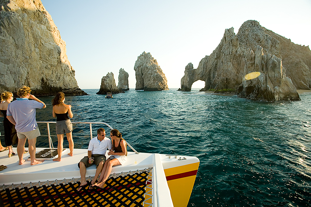 Cabo Jazz & Wine Sunset Cruise on the Tropicat
