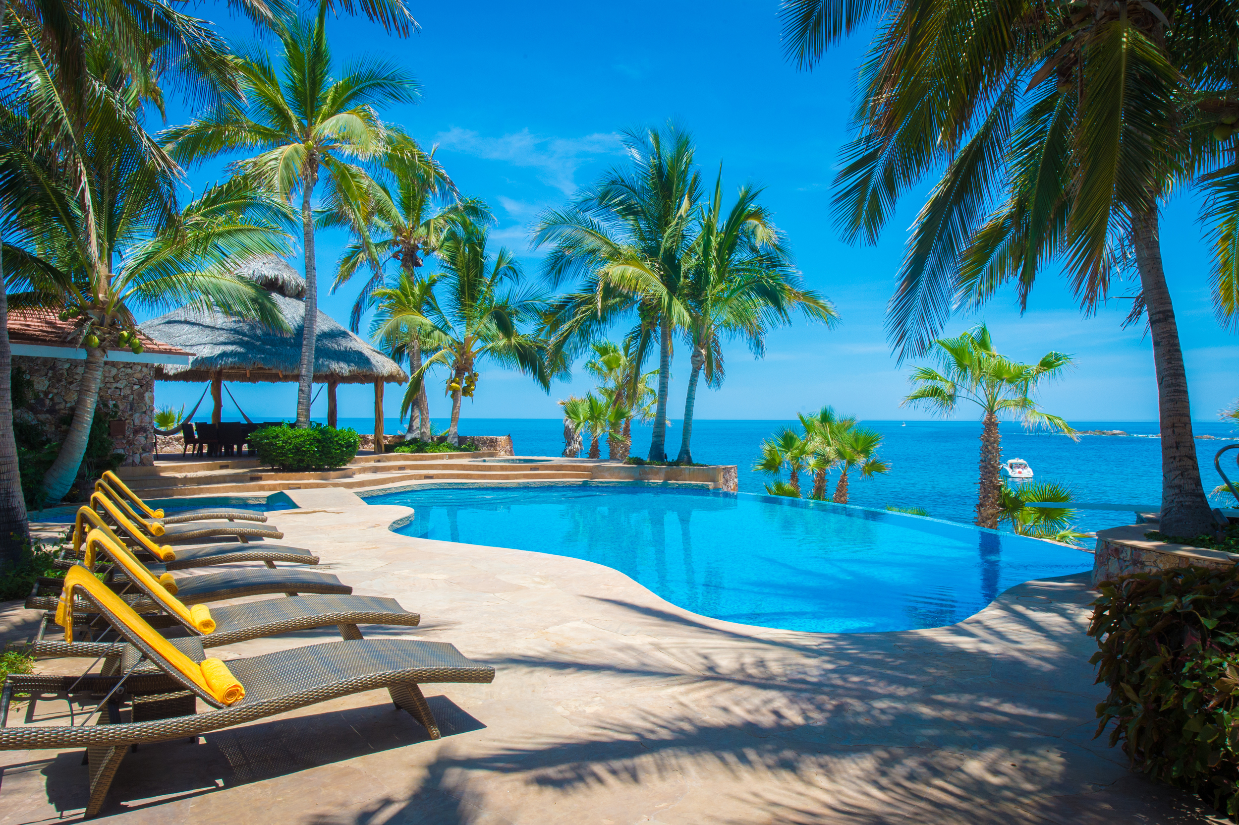 Relax in Paradise    Book one of our private villa services       Services