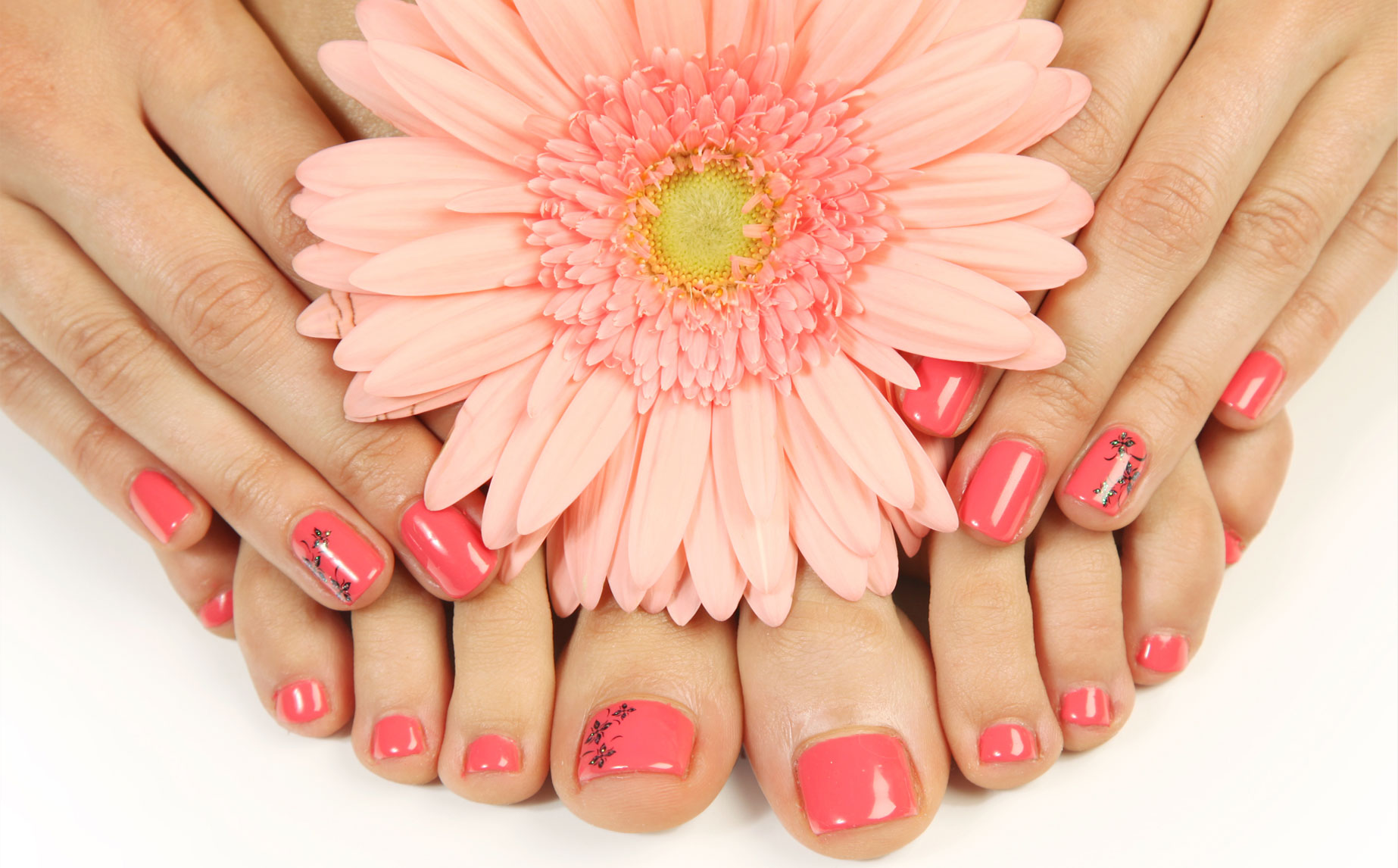 Manuicure and Pedicure  $95 - Manicure only $45 - Pedicure only $55