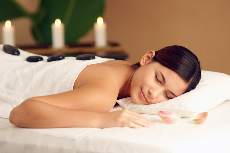 Hot stone massage  ( massage done with hot river rocks - very soothing) 80 minutes $130