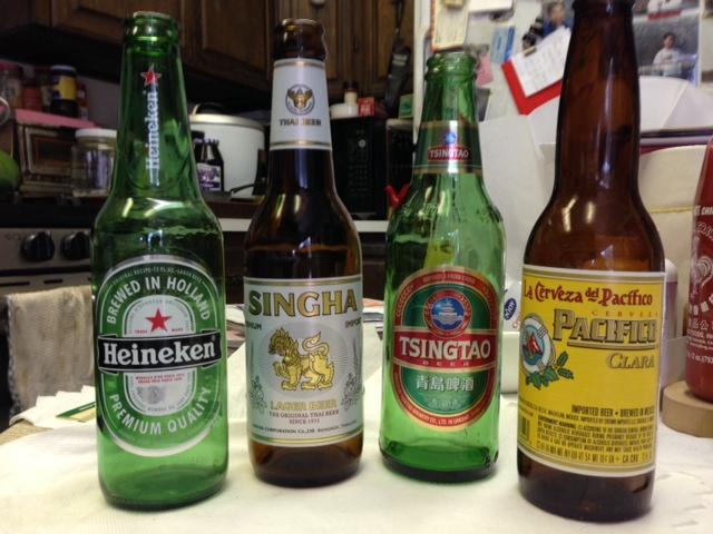 Beer Package : $90. 12 Corona, 12 Tecate, 12 Pacifico, 12 Modelo, & 12 XX larger