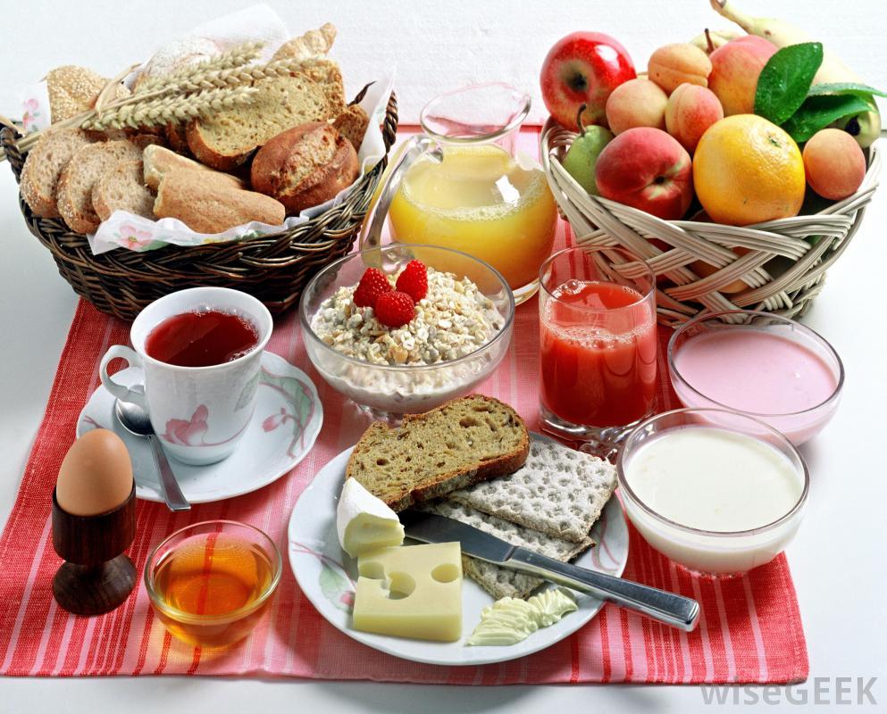 Breakfast Package : $93. seasonal fruit, turkey bacon, oatmeal, eggs, bagels, butter, coffee, orange juice, milk, multigrain bread, jam &bottled water.