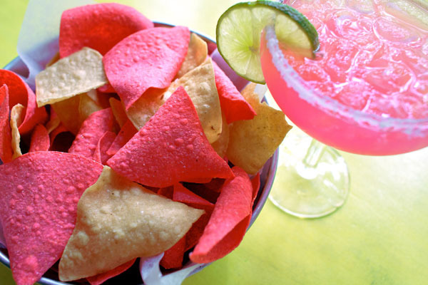 Cabo special:  Chips, salsa, guacamole, quesadillas, and fresh lime margaritas. $22 per person.