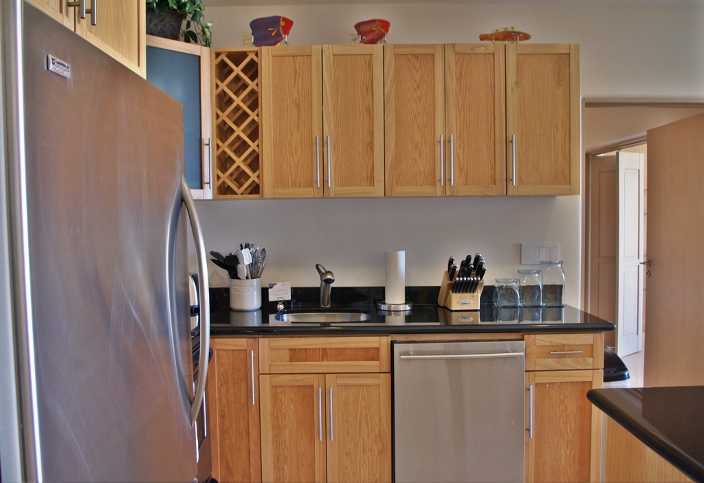 Stainless steel appliances and fully stocked kitchens.jpg