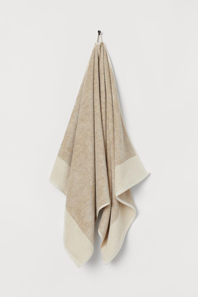 H&M - Linen-blend Towel, $25