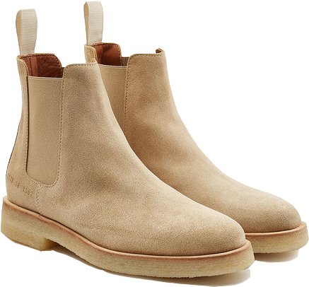 Common Projects - Suede Chelsea, $545