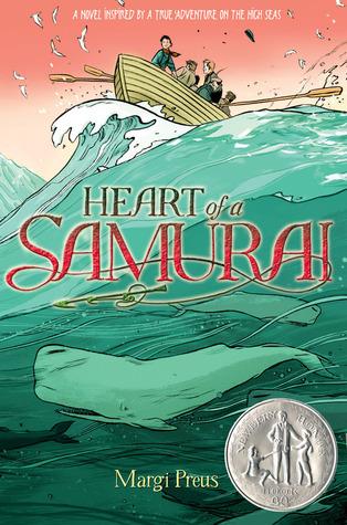 Preus, Margi. Heart of a Samurai: Based on the True Story of Nakahama Manjiro. Amulet Books, 2010. 301pp. Grades 5-8.