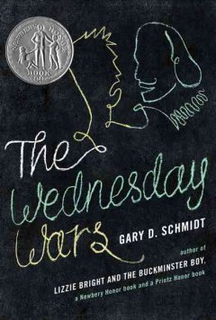 Schmidt, Gary. The Wednesday Wars. Clarion Books, 2007. 256 pp. Grades 6-8.