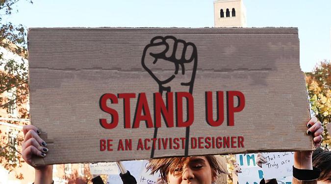Design Activist Definition Poster