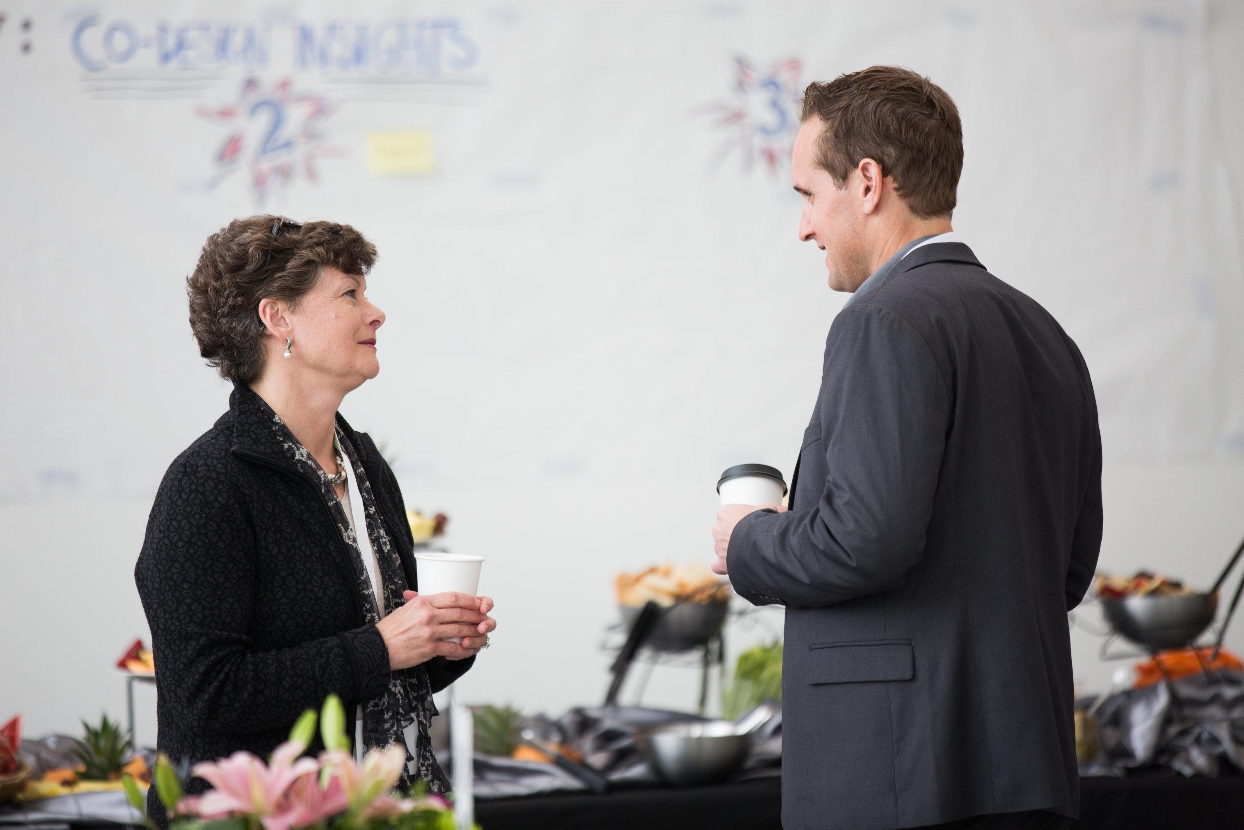 Jenny Whitener and Darren Reinke