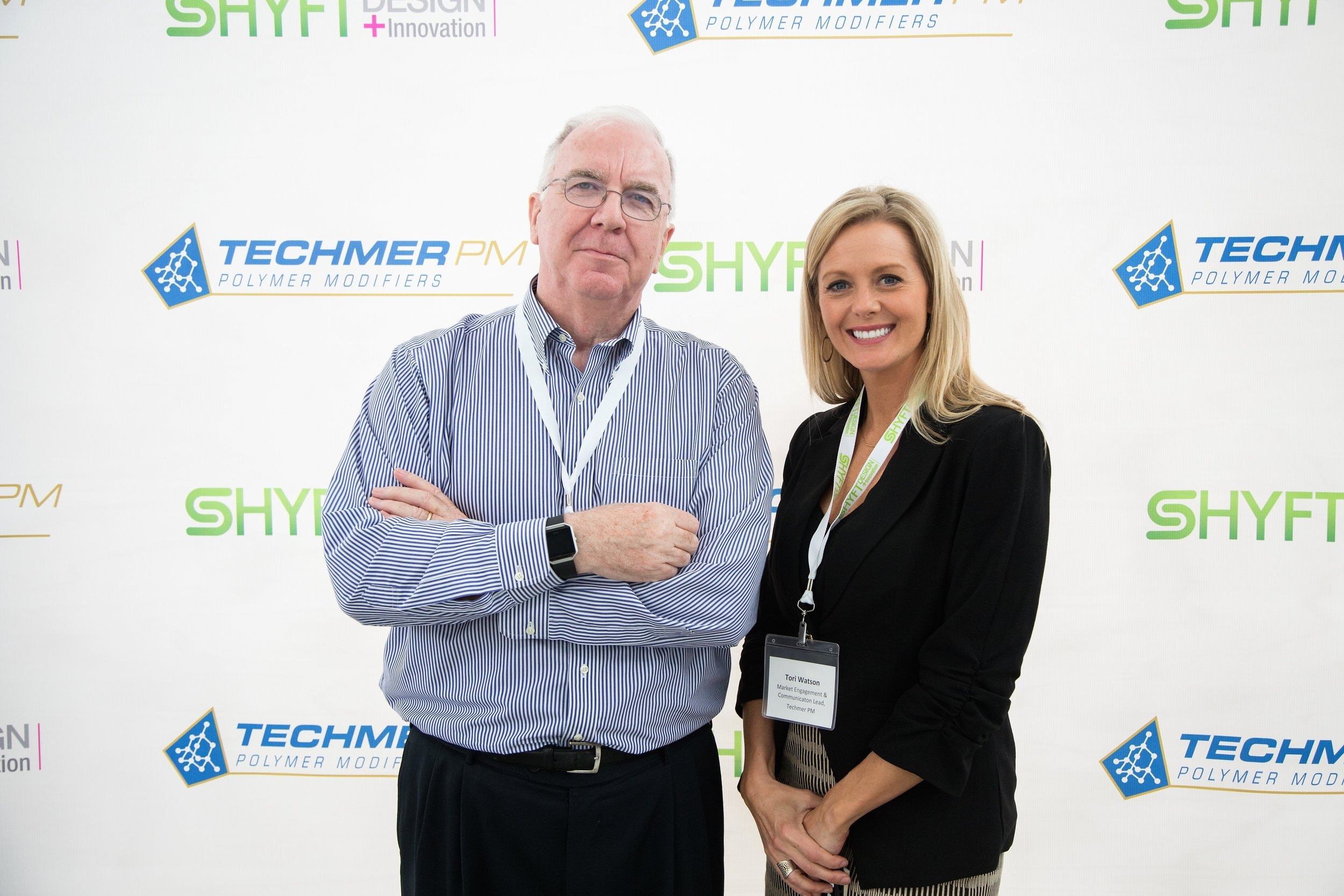 David Turner and Tori Watson