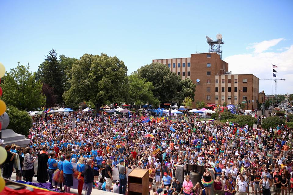 Biggest Pride Boise has ever seen.