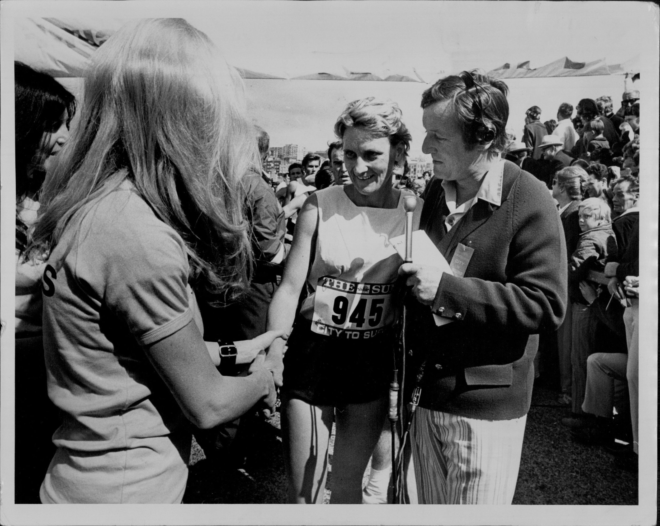 Beth Stanford was the first female to complete City2Surf in 1971.