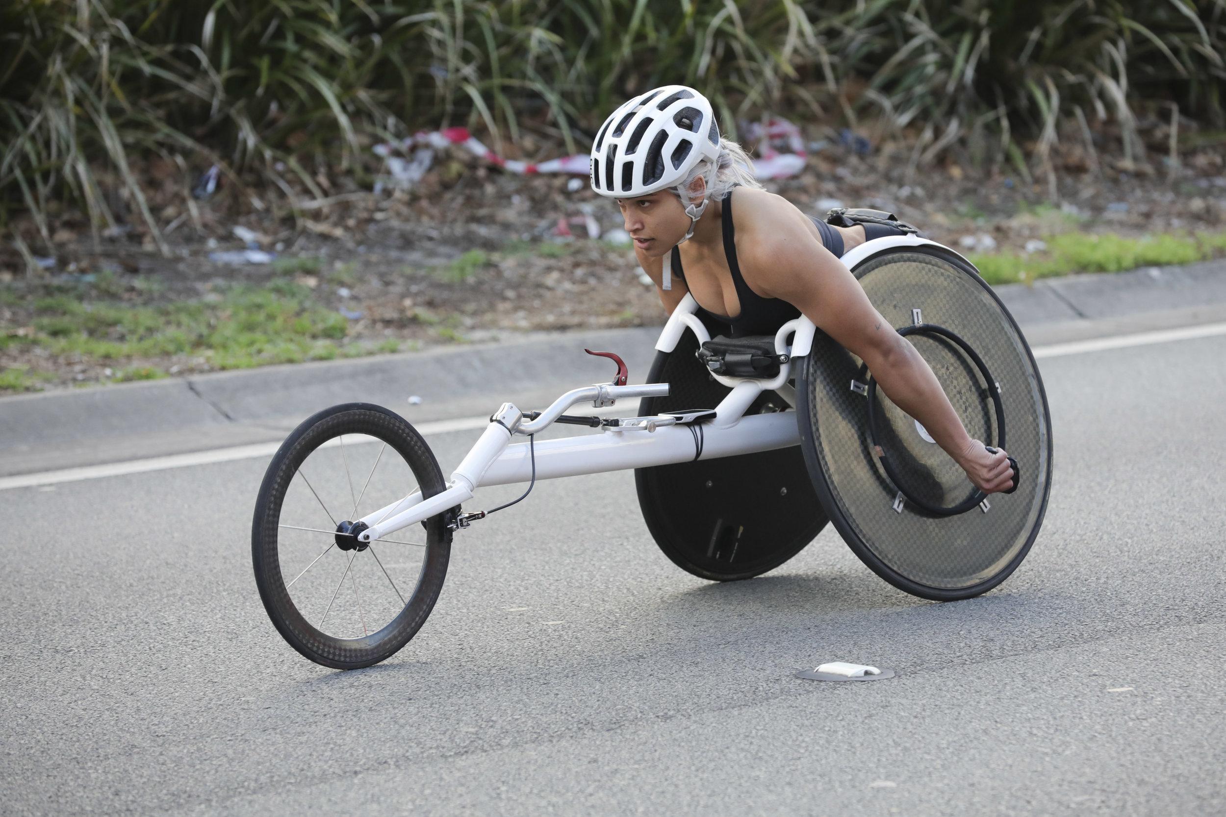 Madison de Rozario - 2018 City2Surf Female Elite Wheelchair Winner