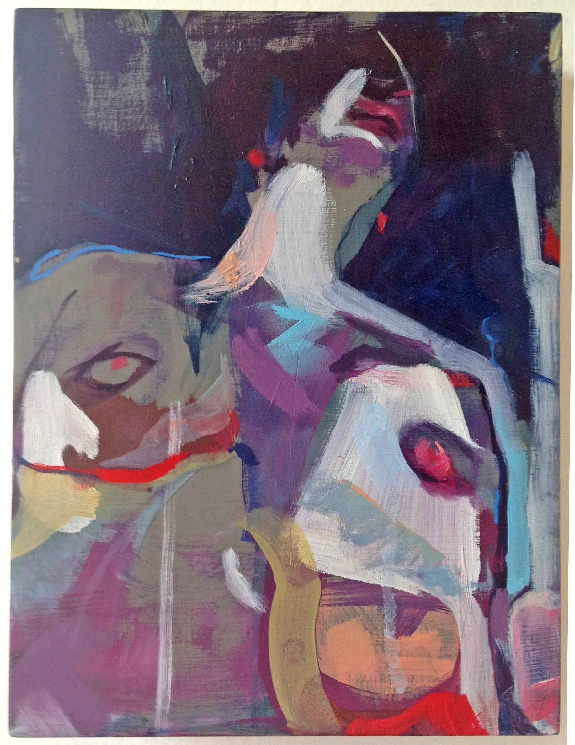 bobby, 2014 oil on panel 8in x 6in
