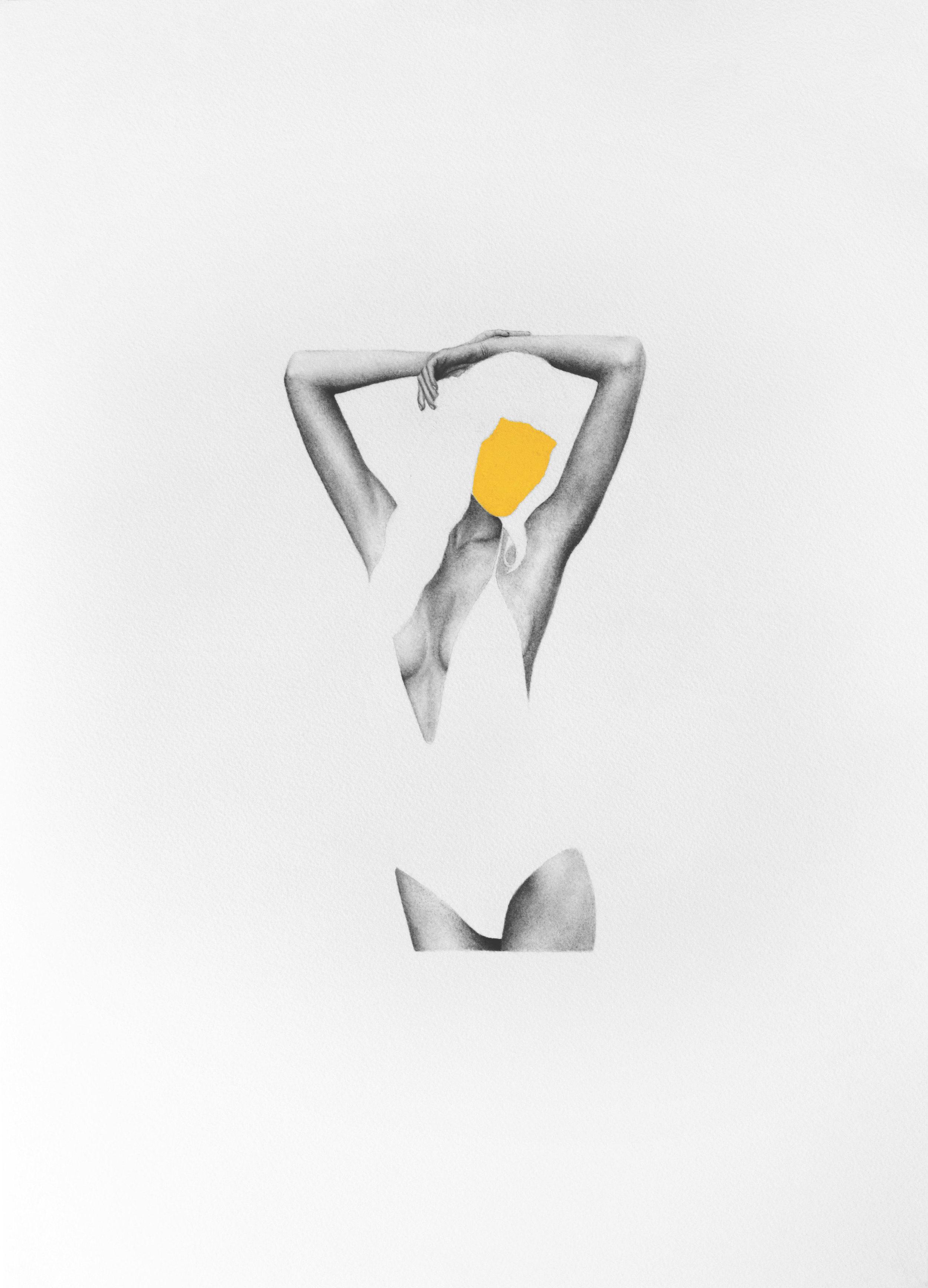 Advertisement Study In Yellow