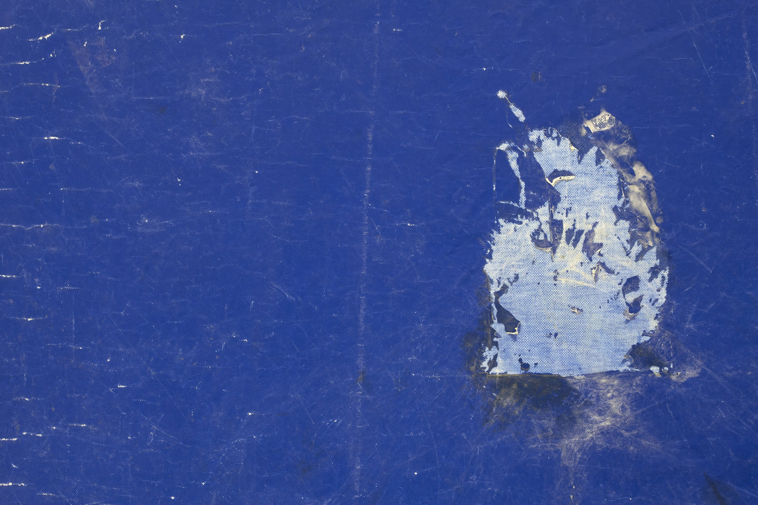 The Ocean (blue), 2019—detail