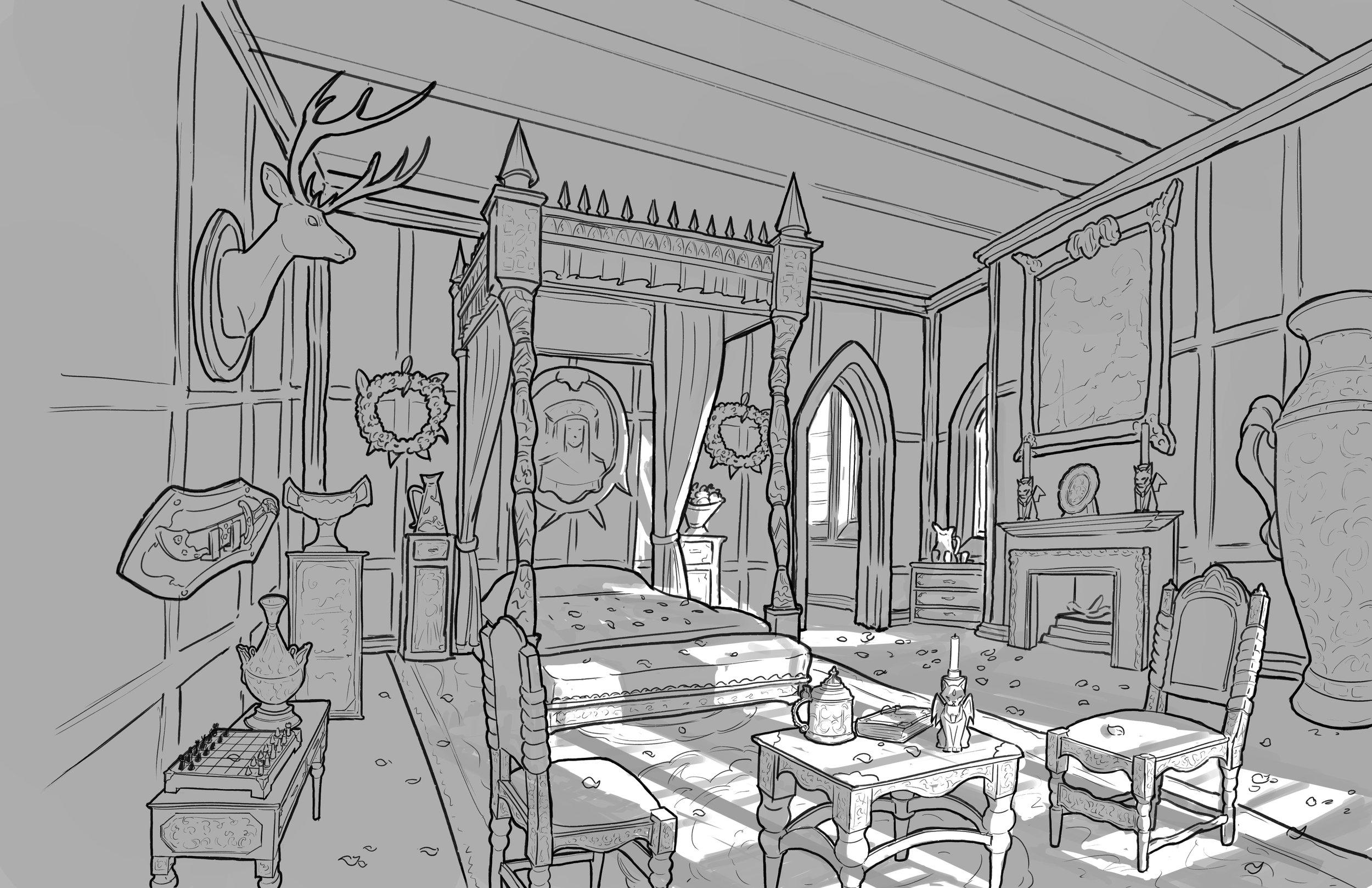 Project: Rumple, Duke's Chamber