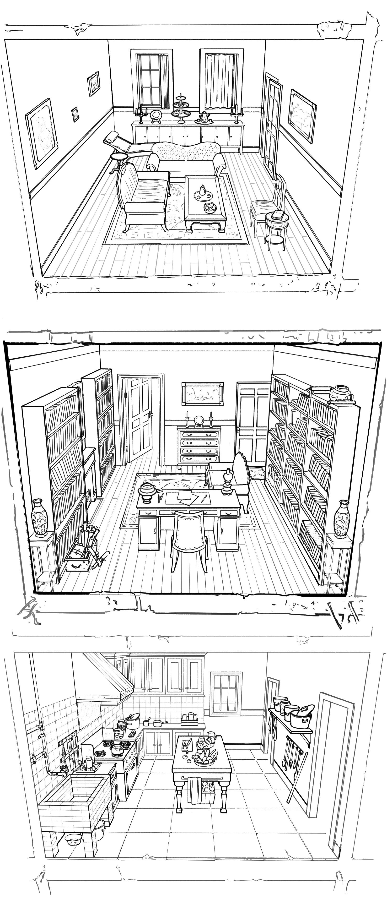 Project: Lucha, Doctor's apartment