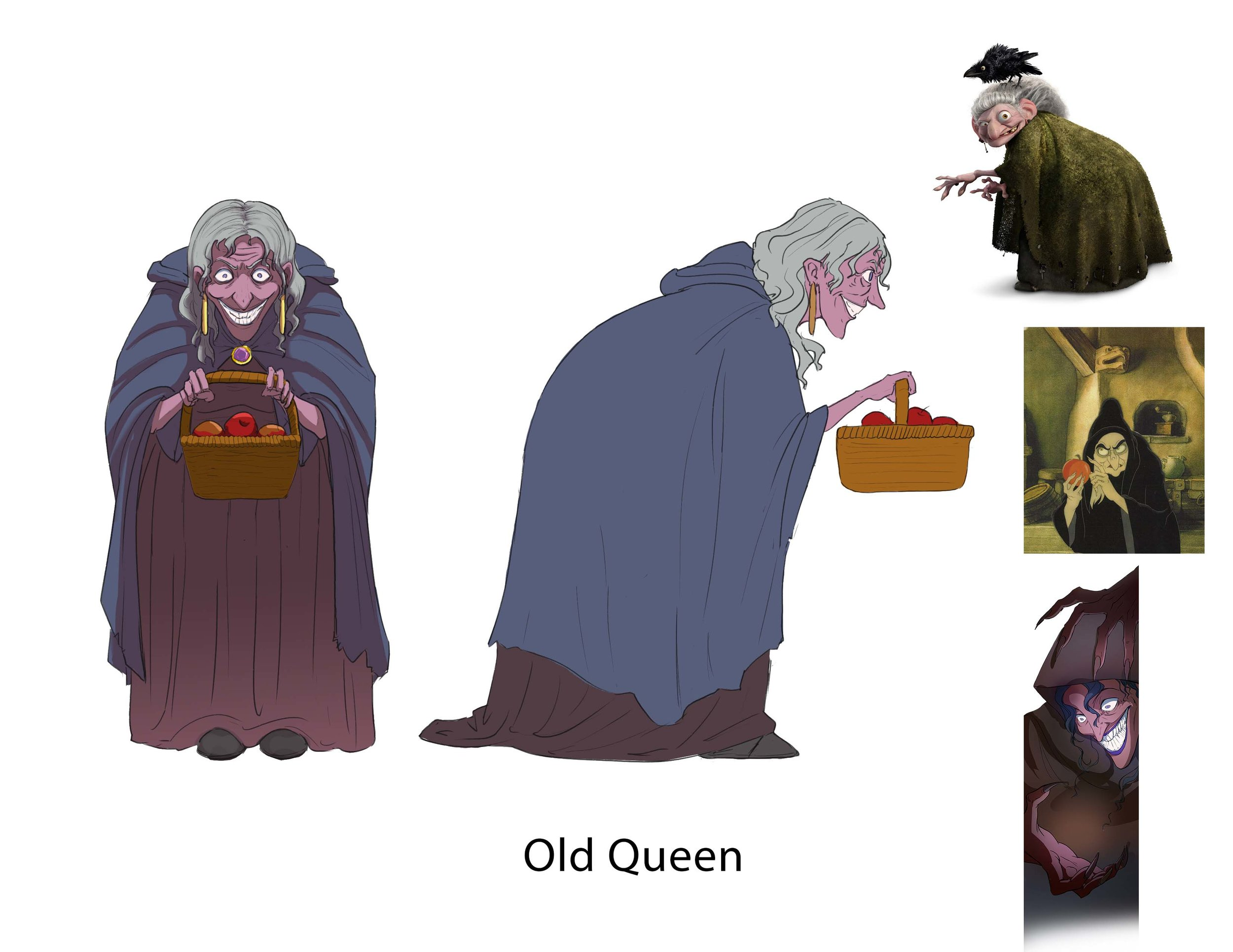 Project: Snow White, old queen