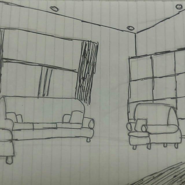Old stuff doodles artwork my art living room