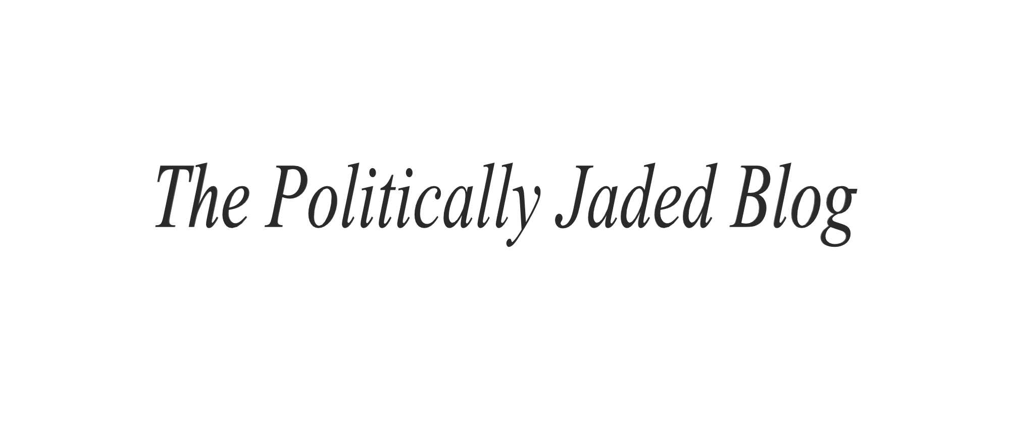 political, jaded, blog, funny, social commentary