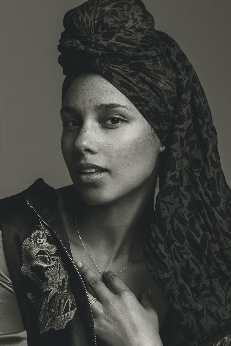 Alicia Keys for Humanity Magazine