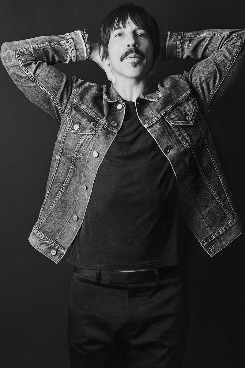 Anthony Kiedis For Humanity Magazine