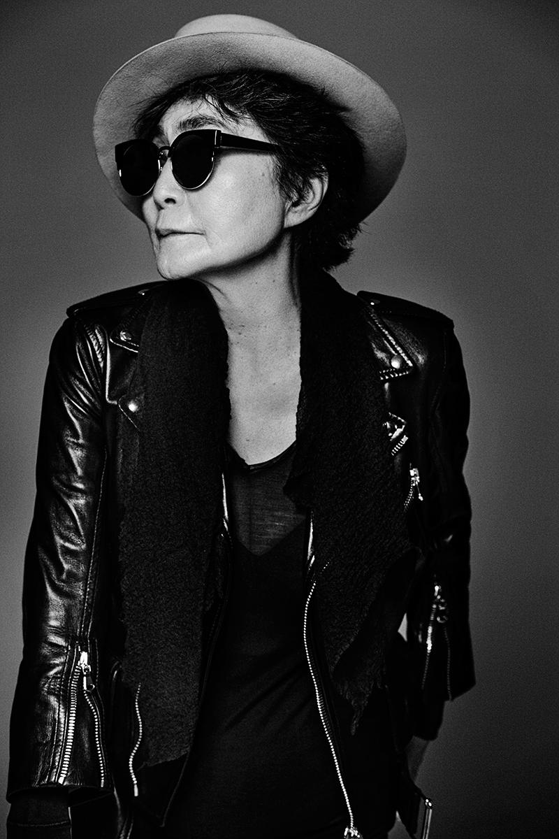 Yoko Ono for Humanity Magazine