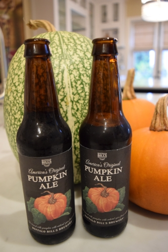 A little pumpkin ale is perfect for helping you get in the fall mood while your bread is in the oven!