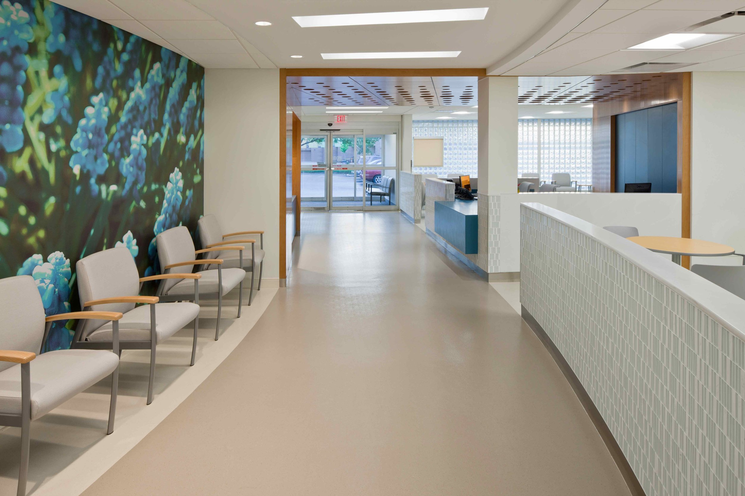 CENTERS FOR DIALYSIS CARE, EAST LOBBY RENOVATION